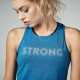 Tank top na siłownie STRONG ID Cut Out Knit Power